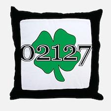 02127 Southie, Boston Throw Pillow