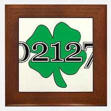 02127 Southie, Boston Framed Tile