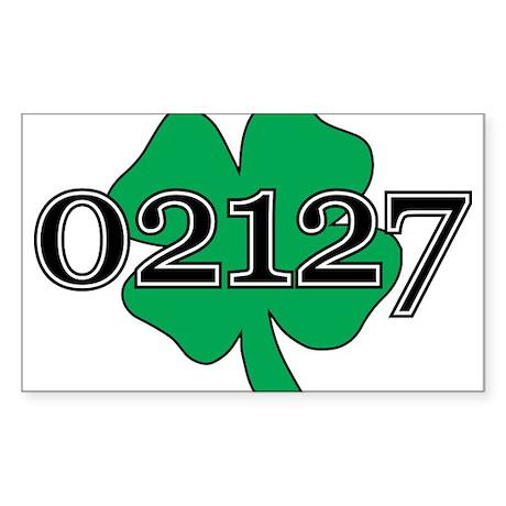 02127 Southie, Boston Sticker (Rectangle)
