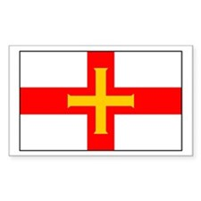 Guernsey Rectangle Stickers