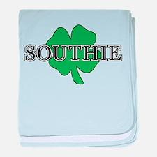 """Southie"" South Boston, Massachusetts baby blanket"