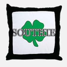 """""""Southie"""" South Boston, Massachusetts Throw Pillow"""