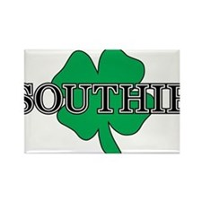 """Southie"" South Boston, Massachusetts Rectangle Ma"