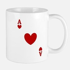 card ace of hearts.png Small Small Mug