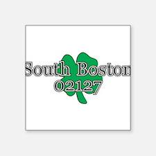 """South Boston, 02127 Square Sticker 3"""" x 3"""""""