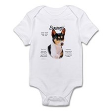 Basenji (tricolor) Infant Bodysuit