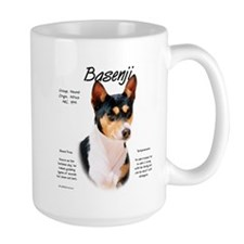 Basenji (tricolor) Mug