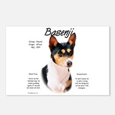 Basenji (tricolor) Postcards (Package of 8)