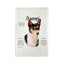 Basenji (tricolor) Rectangle Magnet