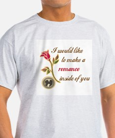 Make a Romance Ash Grey T-Shirt