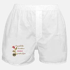 Make a Romance Boxer Shorts