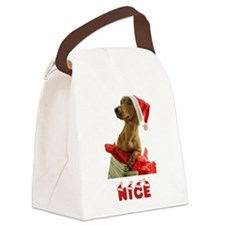 Nice Dachshund Canvas Lunch Bag