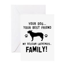 Belgian Laekenois dog breed designs Greeting Card