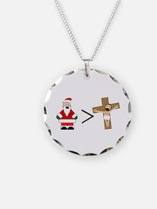 Santa Jesus Necklace
