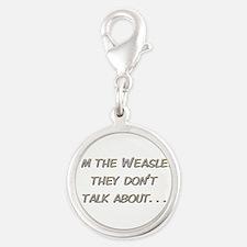 Weasley Redhead Silver Round Charm