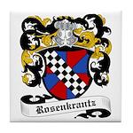 Rosenkrantz Coat of Arms Tile Coaster