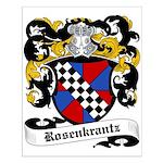 Rosenkrantz Coat of Arms Small Poster