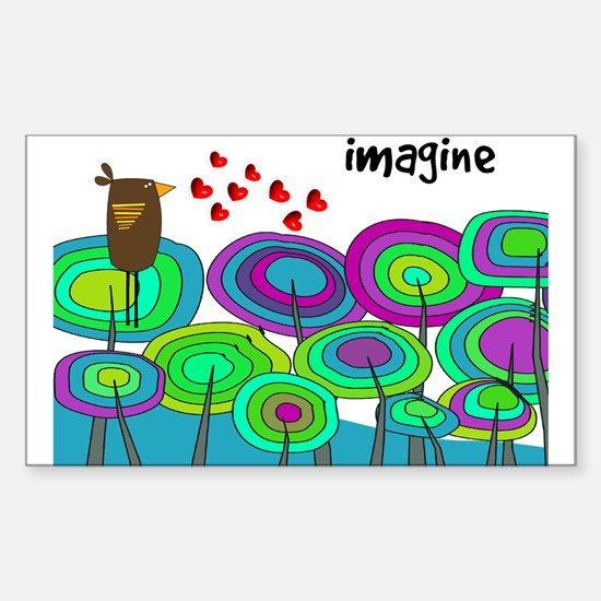 imagine cell case blue HORIZI.PNG Decal