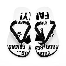 Chinese Shar-Pei dog breed designs Flip Flops