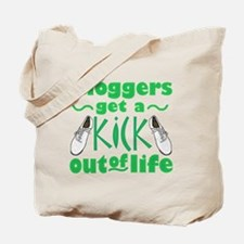Cloggers Get a Kick Out of Life Tote Bag