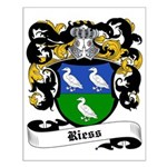 Riess Coat of Arms Small Poster