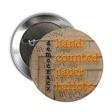 "Hand-Counted Paper Ballots 2.25"" Button (10 pack)"