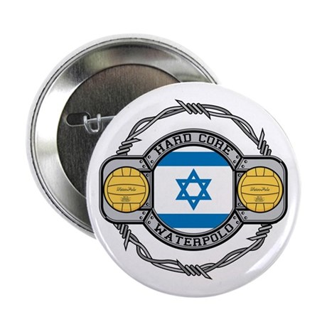 """Israel Water Polo 2.25"""" Button (10 pack)"""
