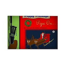 Happy Holidays (Vignette) Rectangle Magnet