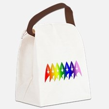 Star Trek Rainbow Pride Bevel Canvas Lunch Bag