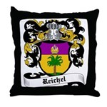 Reichel Coat of Arms Throw Pillow