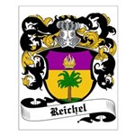 Reichel Coat of Arms Small Poster