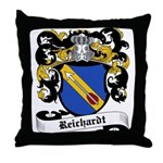 Reichardt Coat of Arms Throw Pillow