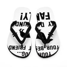 Daschund dog breed designs Flip Flops