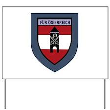 Luftschutz- truppenschule Yard Sign