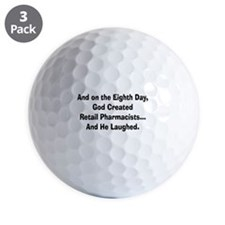 Retail pharmacists god created.PNG Golf Ball