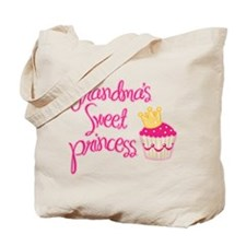 Grandma's Sweet Princess Tote Bag