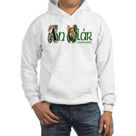 Clare Dragon (Gaelic) Hooded Sweatshirt