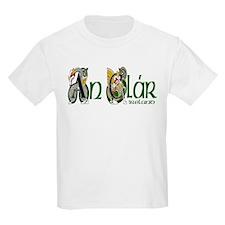 Clare Dragon (Gaelic) Kids T-Shirt