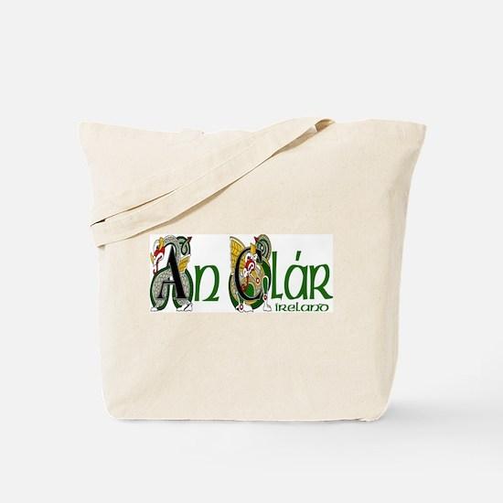 Clare Dragon (Gaelic) Tote Bag