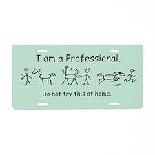 I am A Pro: Vet Aluminum License Plate