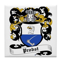 Probst Coat of Arms Tile Coaster