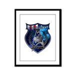 USS Alliance Framed Panel Print