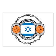 Israel Basketball Postcards (Package of 8)