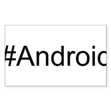 #Android hash tag Decal