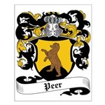 Peer Coat of Arms Small Poster