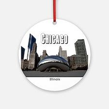 Chicago Ornament (Round)