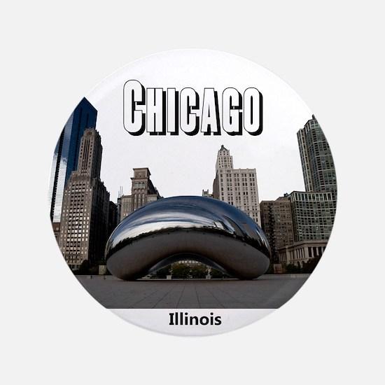 """Chicago 3.5"""" Button"""