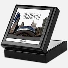 Chicago Keepsake Box