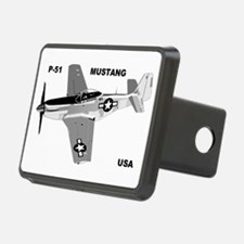 p-51 mustang Hitch Cover