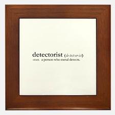 Detetctorist Framed Tile